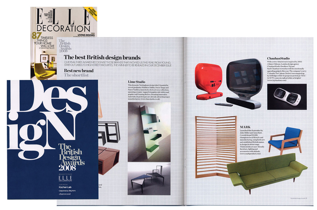 The British Design Awards, Elle Decoration – Tej Chauhan